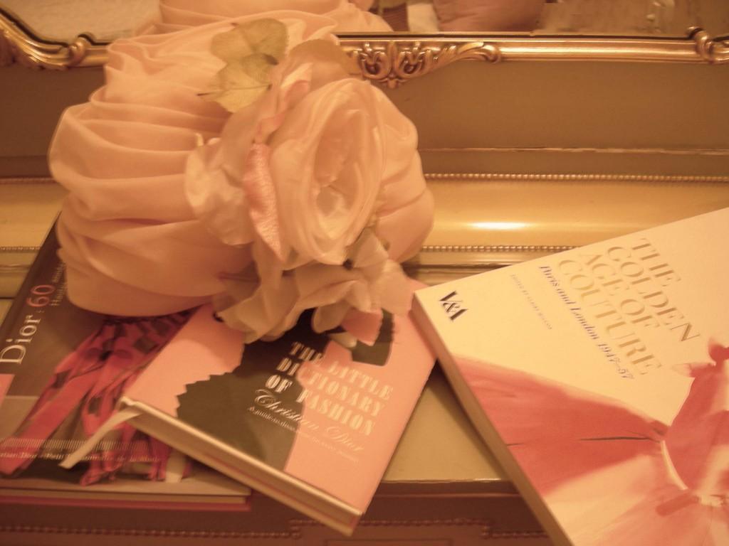 Dior chapeau rose