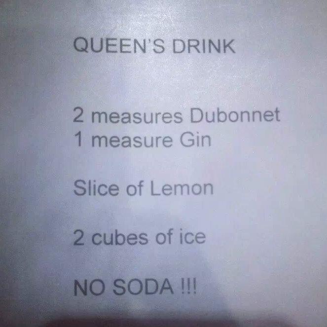 2 queen drink
