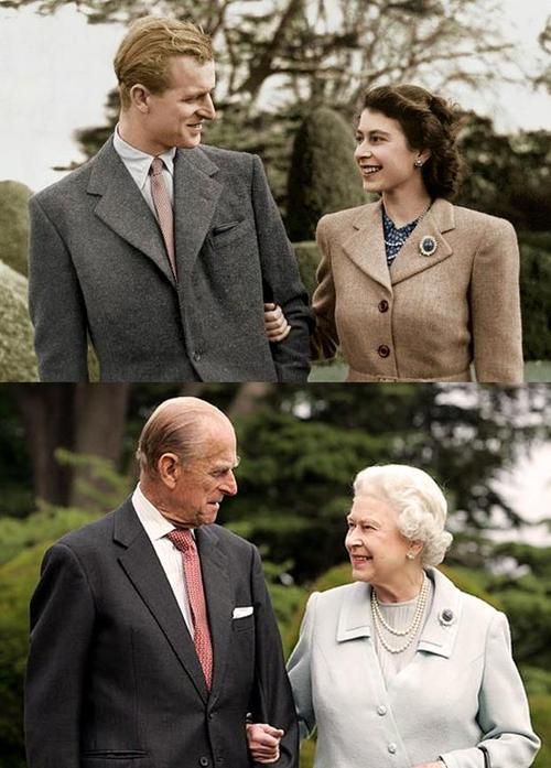 The QUeen and Doe, then and now