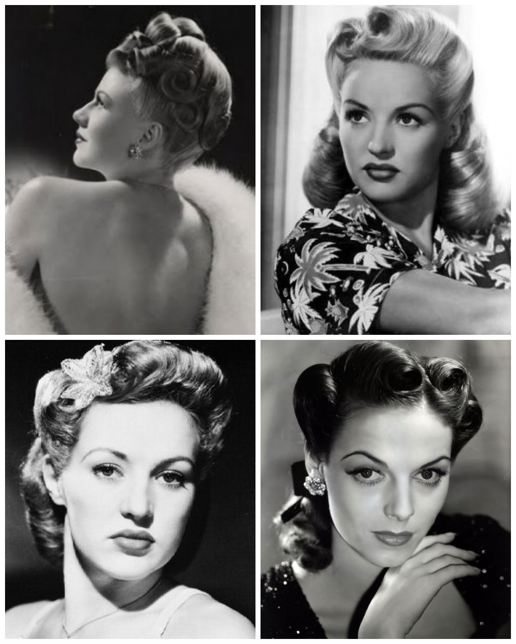 Hairstyles 1940s