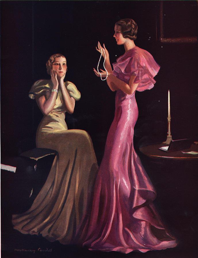Silhouette slim 1930s