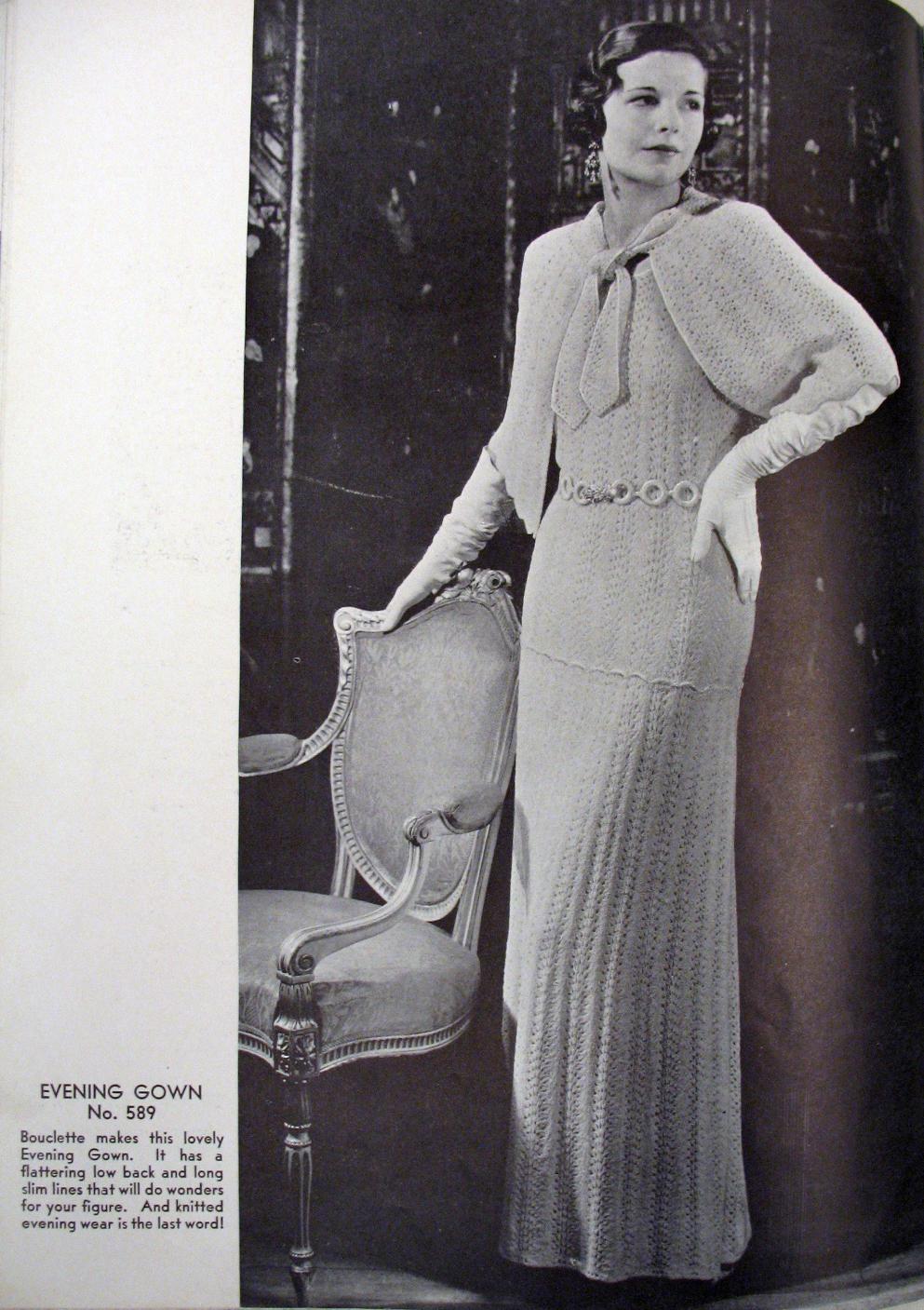 1930s guanti lunghi