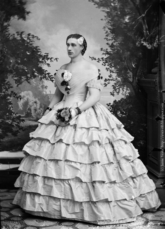 Cross dressing verso il 1860
