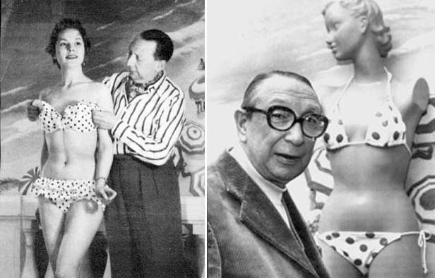 Louis Reard and the First bikini 1946