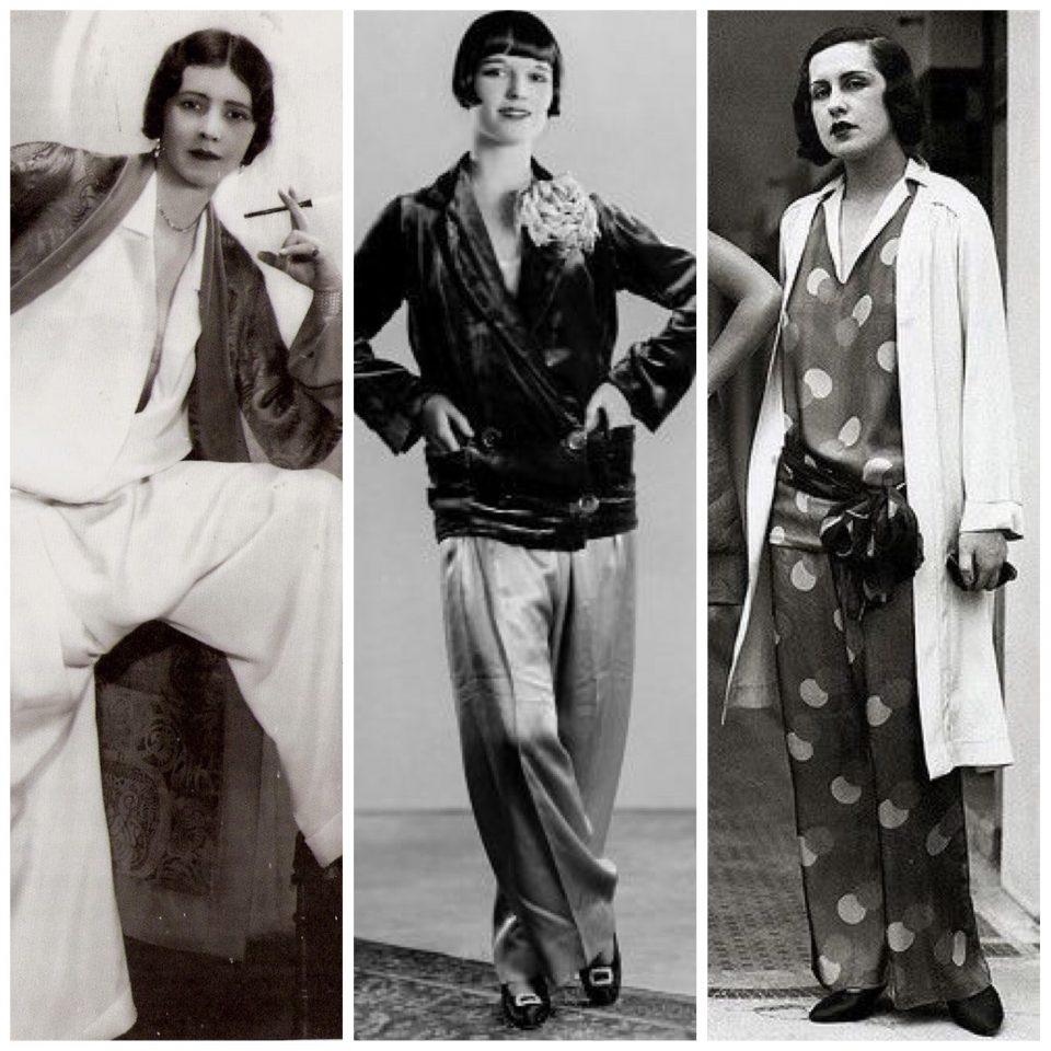Breve storia del pigiama, 1900 - 1930