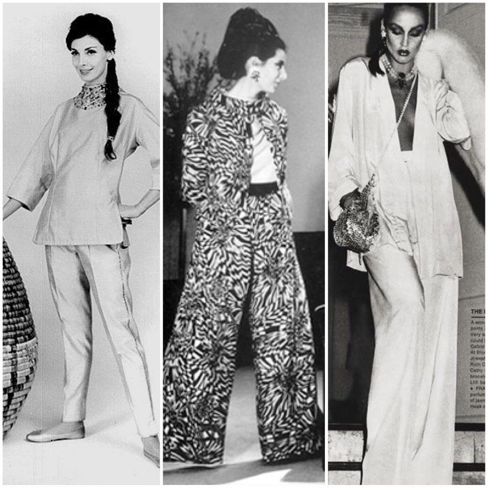 Breve storia del pigiama, 1960 - 1990