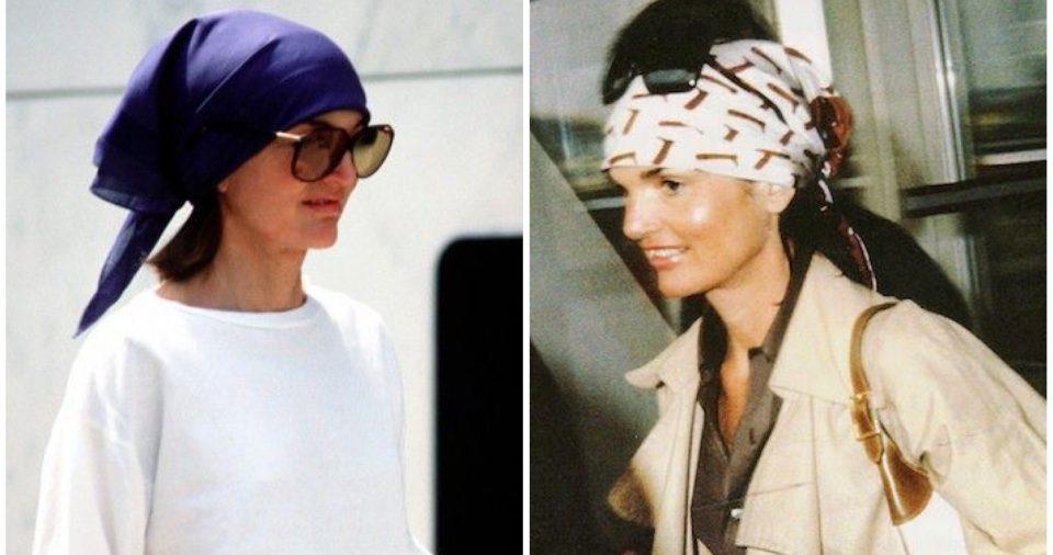 jackqueline kennedy foulard
