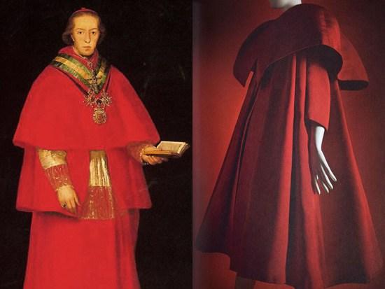 Goya, Cardinale Louis Maria di Borbone 1798 ca. - Balenciaga, inverno 1954