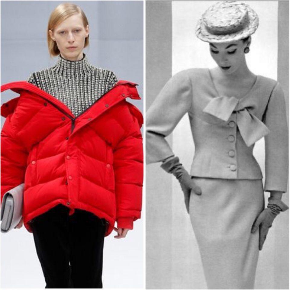 Balenciaga oggi Vs Balenciaga anni '50