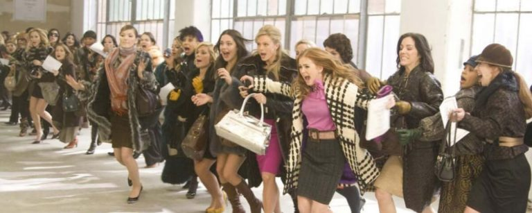 una scena dal film i love shopping
