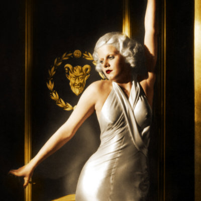 Jean Harlow Colorized