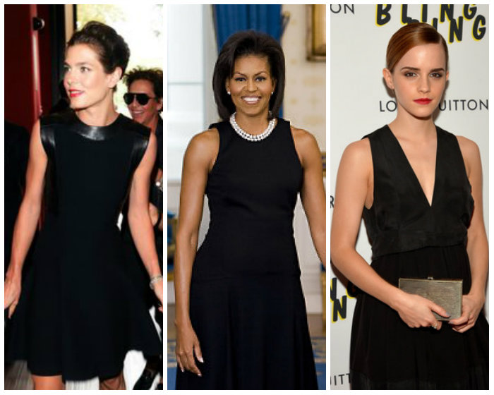 Charlotte Casiraghi 2014, Michelle Obama 2009, Emma Watson 2013