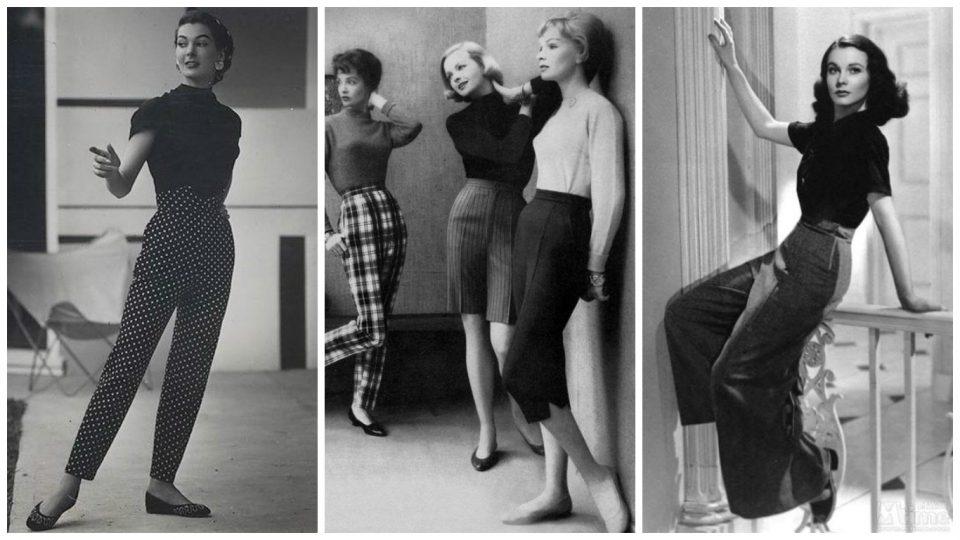 pantaloni vintage