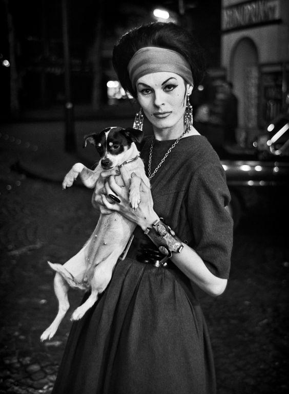 Una trans parigina, negli anni '50