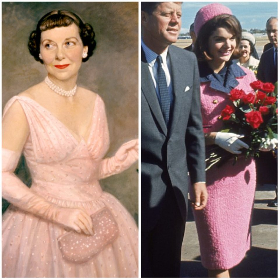 First Ladies in rosa: Mamie Eisenhower e Jackie Kennedy