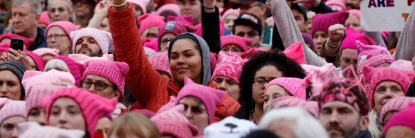 La PussyHat March di Gennaio 2017