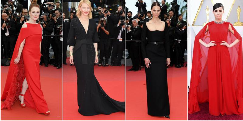 Julianne Moore, Cate Blanchett, Aymeline Valade e Sofia Carson - Festival di Cannes e Oscar 2018