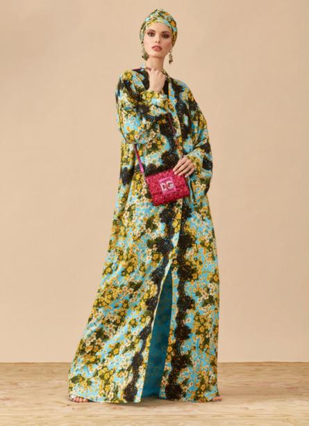 Dolce e Gabbana Abaya Printed