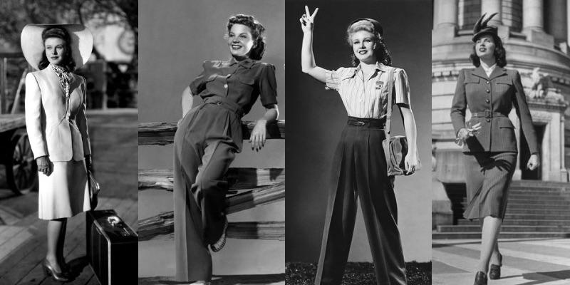 Abiti Da Cerimonia Anni 40.Guida Alla Moda Anni 40 Stile Abbigliamento E Trucco Blog Elisa
