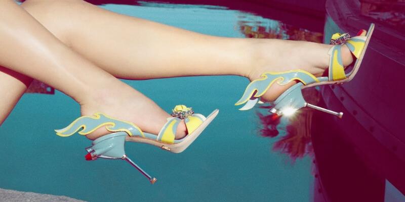 scarpe di prada con tacco