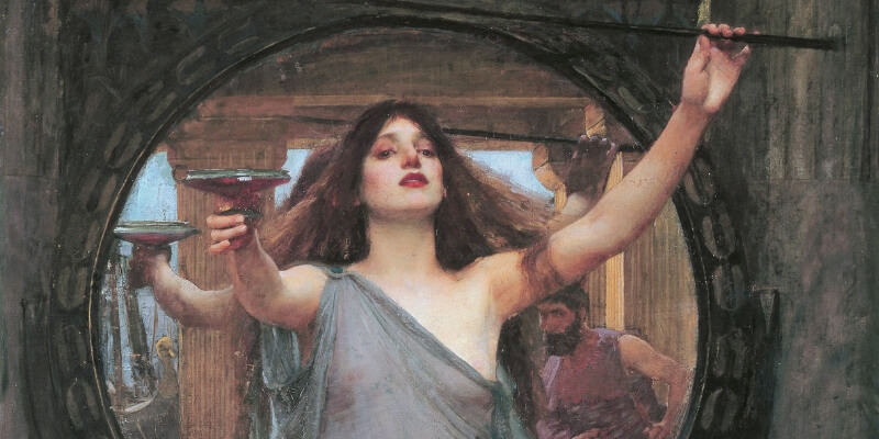 John William Waterhouse - Circe - 1891