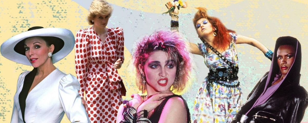 Abbigliamento Da Sera Anni 80.Guida Allo Stile E Alla Moda Anni 80 Elisa Motterle