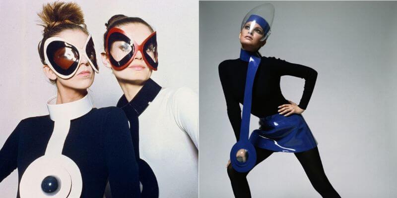 creazioni anni '60 dello stilista pierre cardin