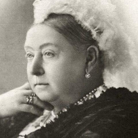 un ritratto della regina vittoria