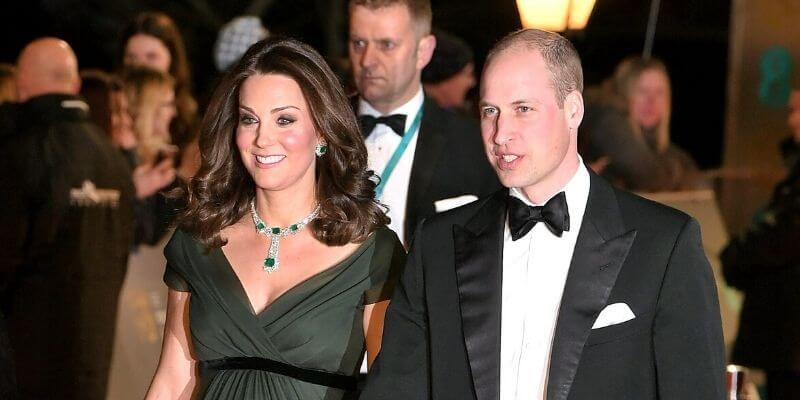 william e kate ai bafta nel 2018