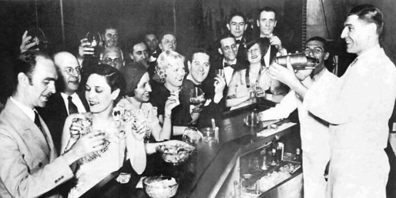 uno speakeasy degli anni '30