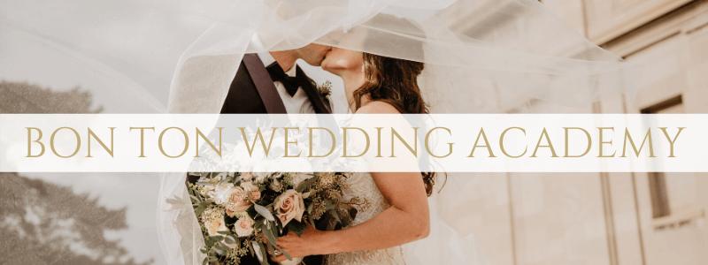 bon ton wedding academy header