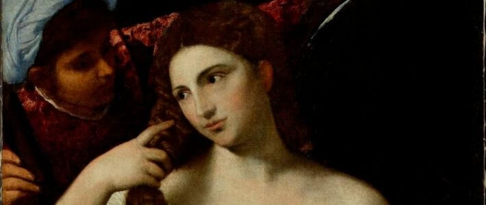 TIziano - donna allo specchio