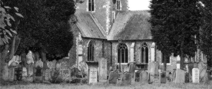 un dettaglio di un cimitero